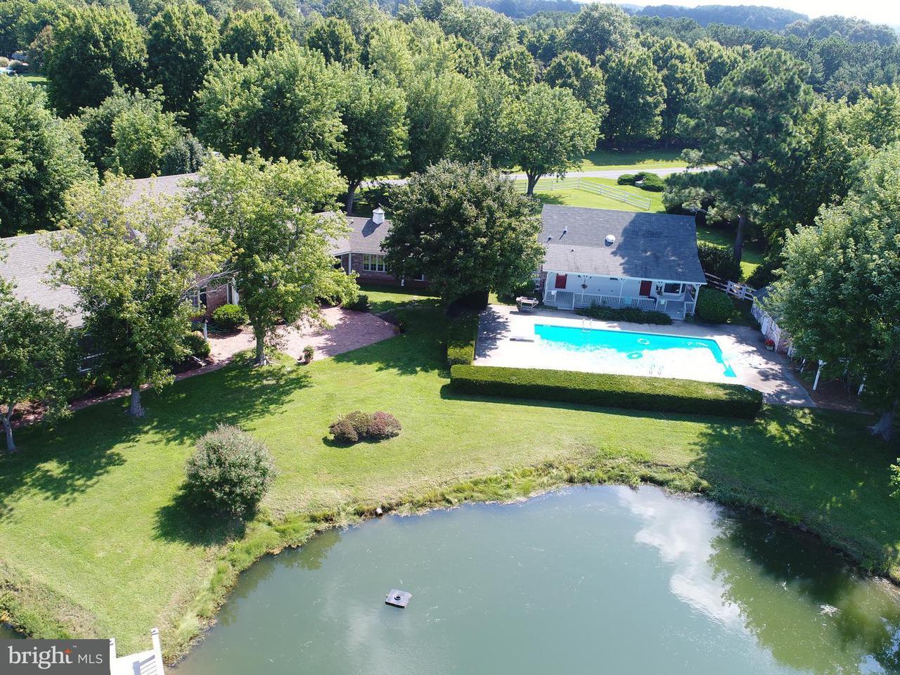 独户住宅 为 销售 在 26325 CHANTICLEER Road 26325 CHANTICLEER Road Oxford, 马里兰州 21654 美国