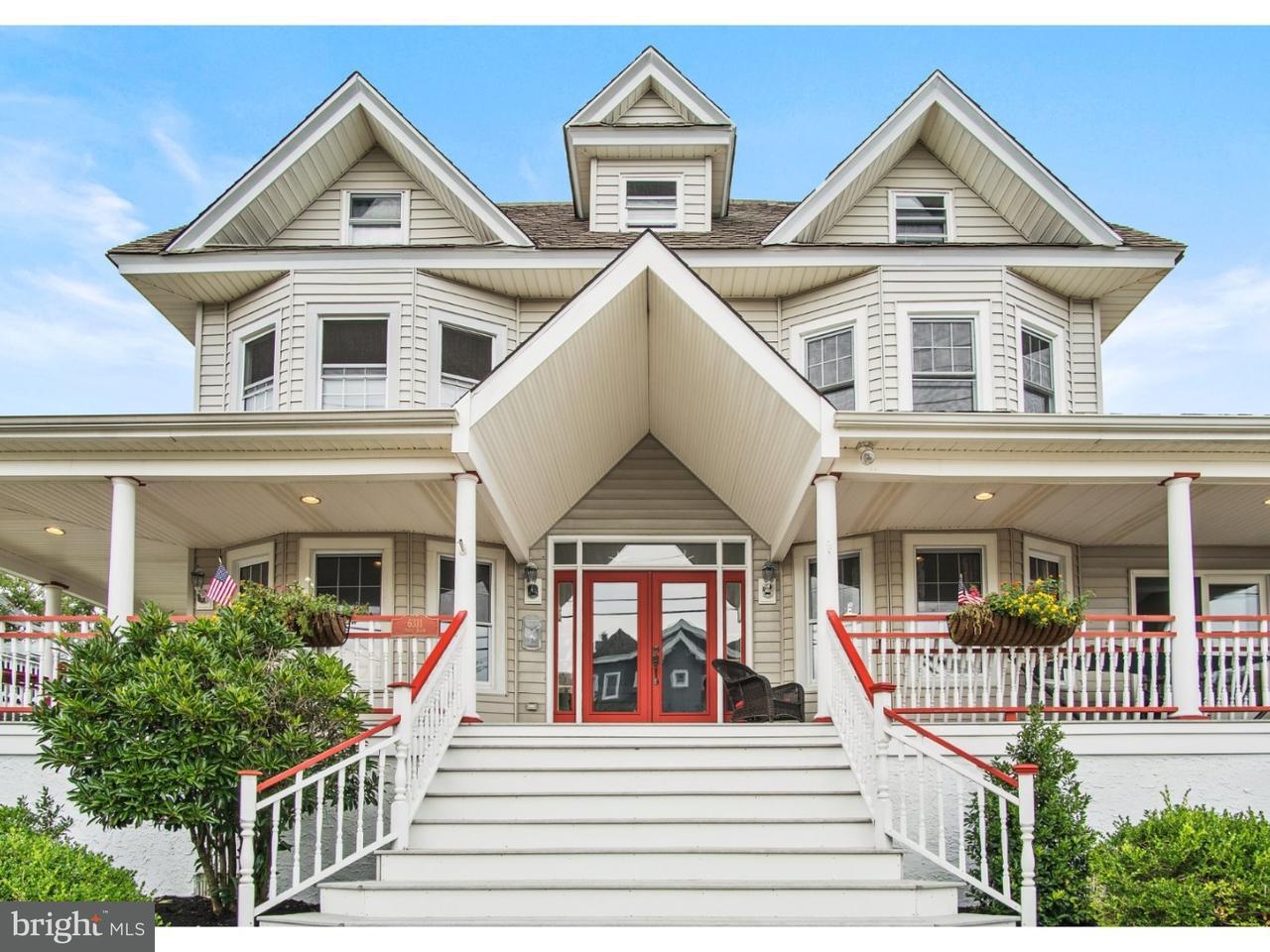 Maison unifamiliale pour l Vente à 6311 PARK BLVD Wildwood, New Jersey 08260 États-Unis