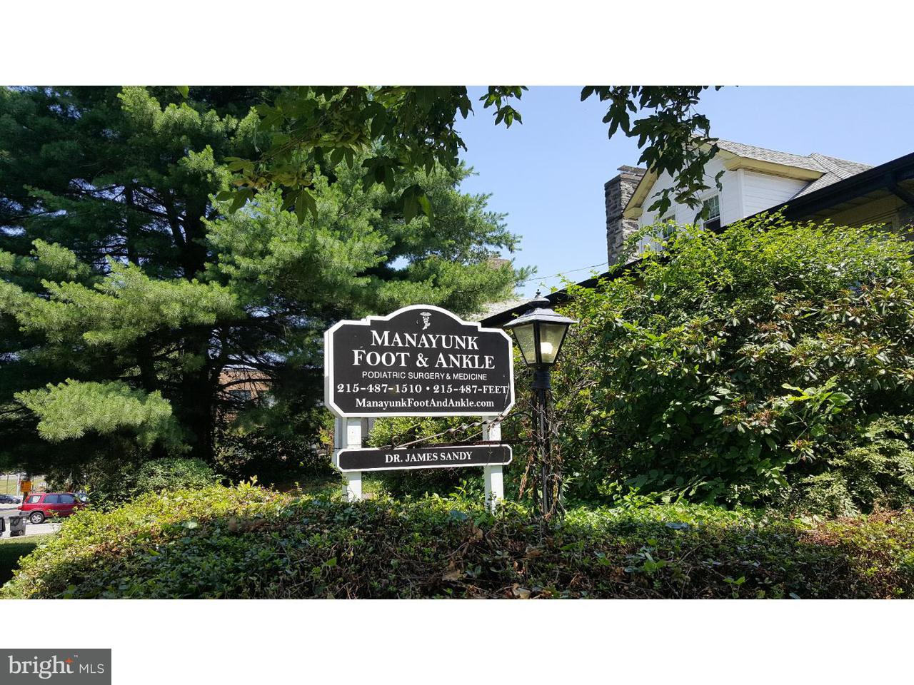 Single Family Home for Sale at 601 WALNUT Lane Philadelphia, Pennsylvania 19128 United States