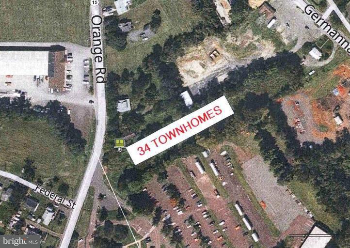 토지 용 매매 에 1507 ORANGE Road 1507 ORANGE Road Culpeper, 버지니아 22701 미국