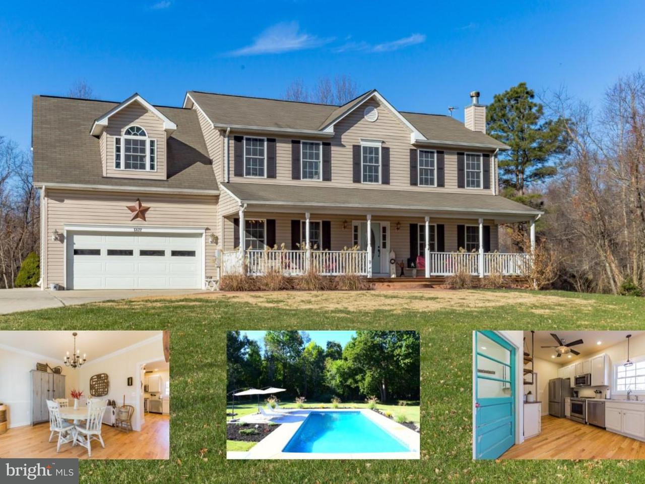 Частный односемейный дом для того Продажа на 5822 SUNDERLAND Court 5822 SUNDERLAND Court Sunderland, Мэриленд 20689 Соединенные Штаты