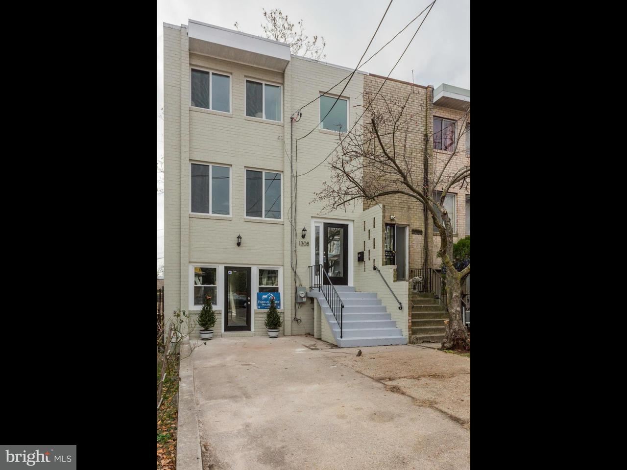 Townhouse for Sale at 1308 DELAFIELD PL NW 1308 DELAFIELD PL NW Washington, District Of Columbia 20011 United States