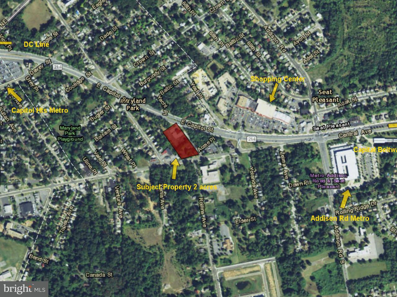 Land for Sale at 6172 CENTRAL Avenue 6172 CENTRAL Avenue Capitol Heights, Maryland 20743 United States