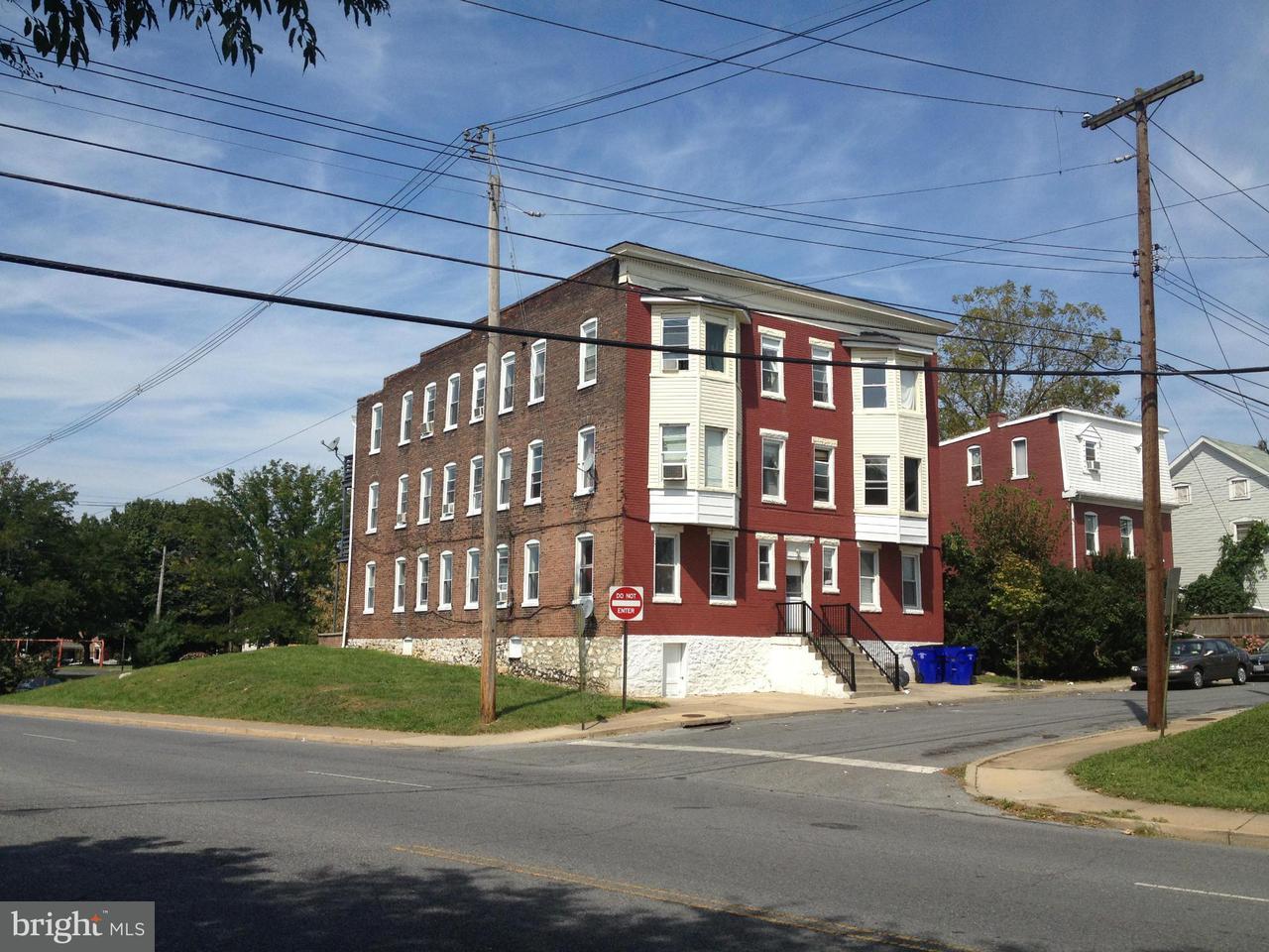 Многосемейный дом для того Продажа на 111 ELIZABETH Street 111 ELIZABETH Street Hagerstown, Мэриленд 21740 Соединенные Штаты