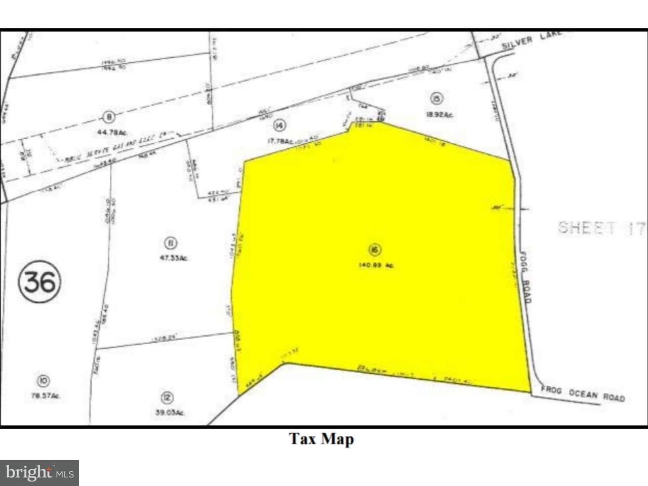 Частный односемейный дом для того Продажа на FOGG LANDING Road Salem, Нью-Джерси 08079 Соединенные Штаты