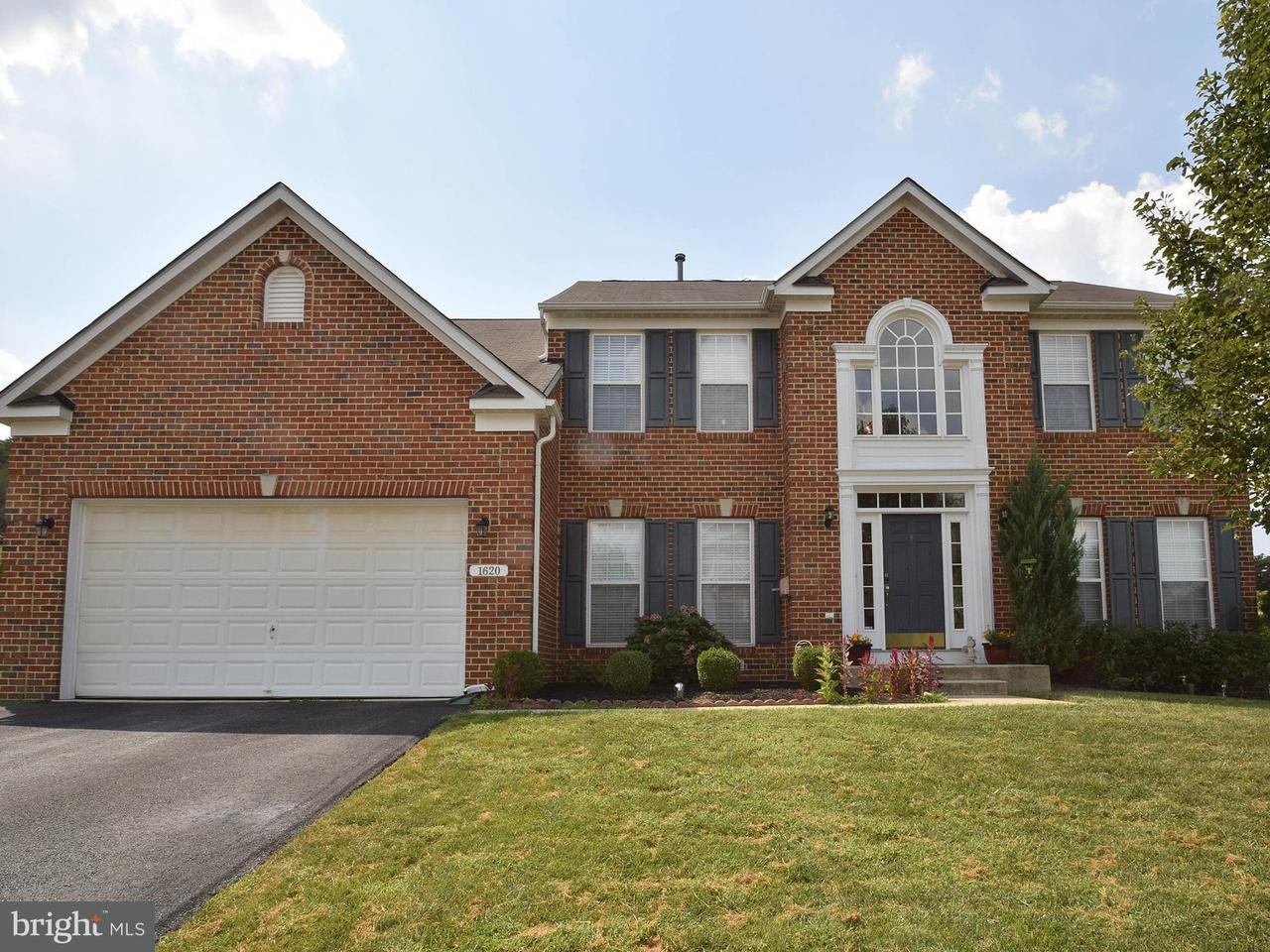 Single Family Home for Sale at 1620 BEAR PAW Lane 1620 BEAR PAW Lane Hanover, Maryland 21076 United States