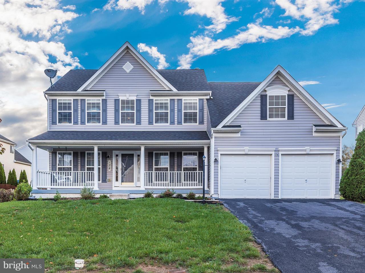 Частный односемейный дом для того Продажа на 128 Greenwich Drive 128 Greenwich Drive Walkersville, Мэриленд 21793 Соединенные Штаты