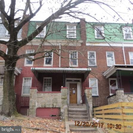 Single Family for Sale at 2324 Bryant Ave Baltimore, Maryland 21217 United States
