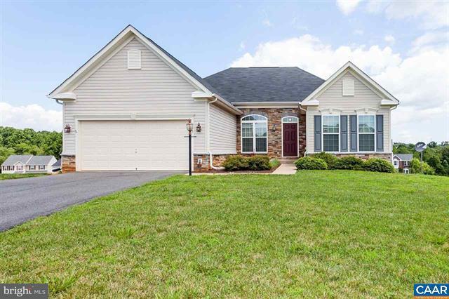 Maison unifamiliale pour l Vente à 200 ELIZABETH Drive 200 ELIZABETH Drive Barboursville, Virginia 22923 États-Unis