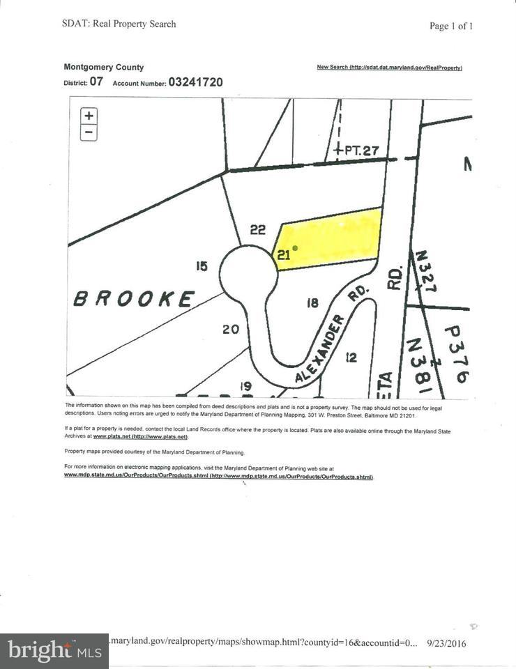 土地 のために 売買 アット 6695 MACARTHUR BLVD 6695 MACARTHUR BLVD Bethesda, メリーランド 20816 アメリカ合衆国