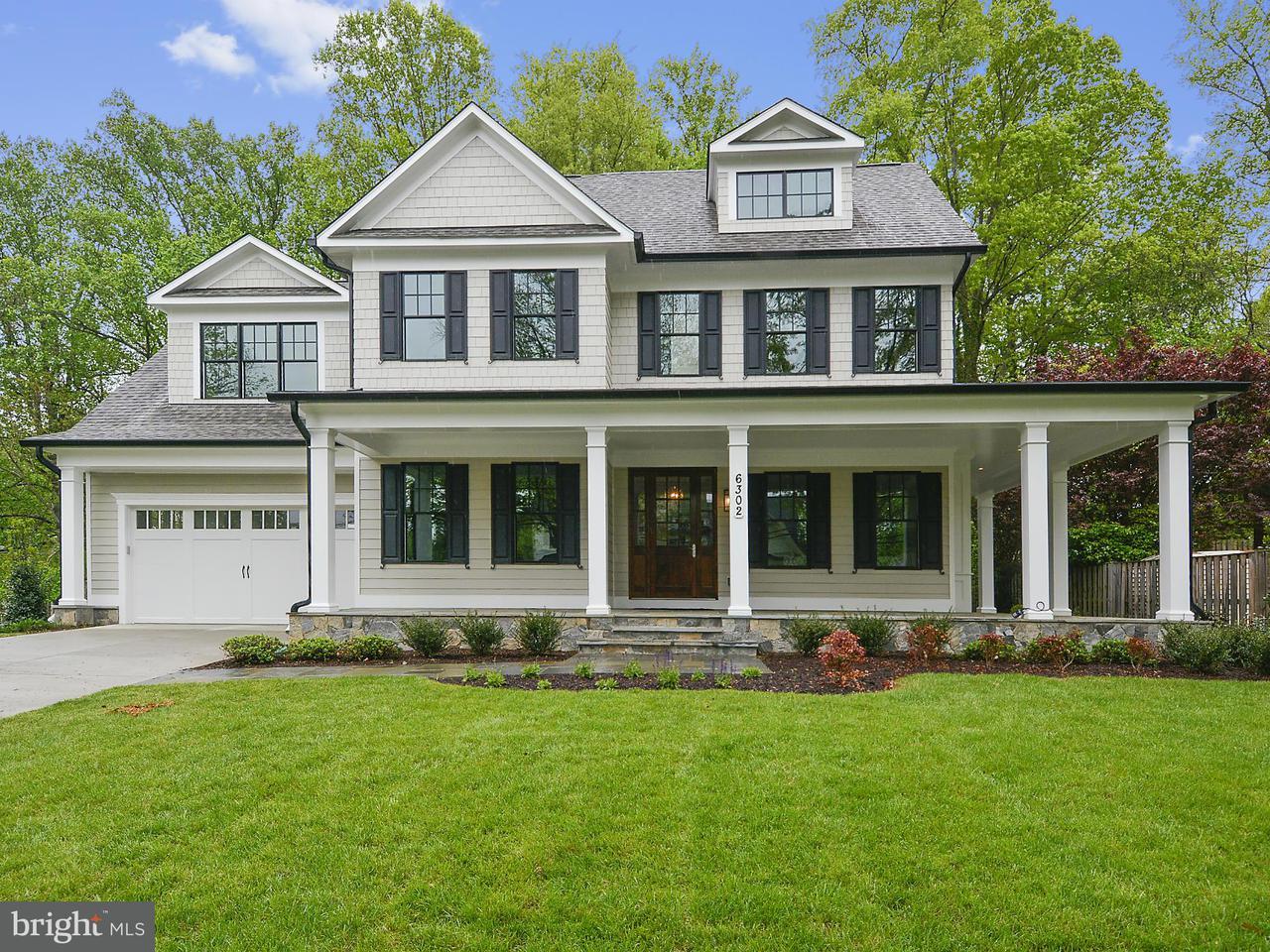 Maison unifamiliale pour l Vente à 6302 MAIDEN Lane 6302 MAIDEN Lane Bethesda, Maryland 20817 États-Unis