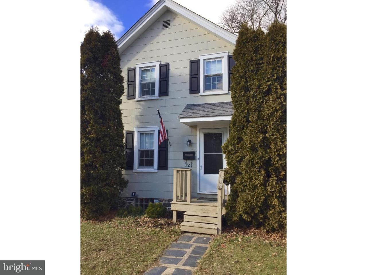 Частный односемейный дом для того Аренда на 204 LOWRYS Lane Bryn Mawr, Пенсильвания 19010 Соединенные Штаты