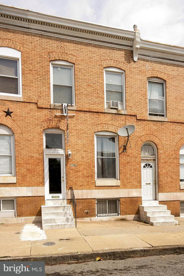 Single Family for Sale at 1702 Lanvale St Baltimore, Maryland 21213 United States