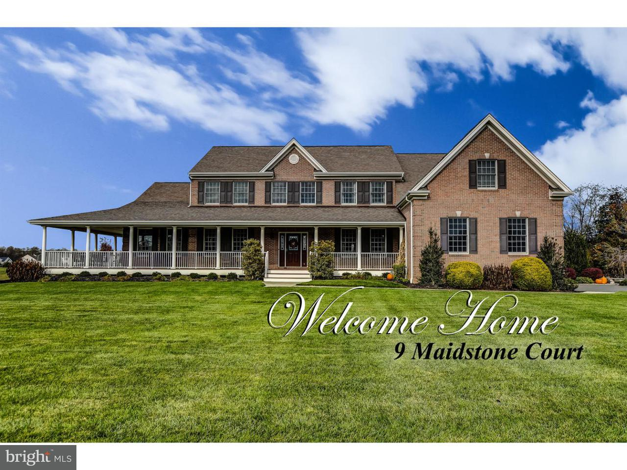 Maison unifamiliale pour l Vente à 9 MAIDSTONE Court South Brunswick, New Jersey 08852 États-UnisDans/Autour: South Brunswick Township
