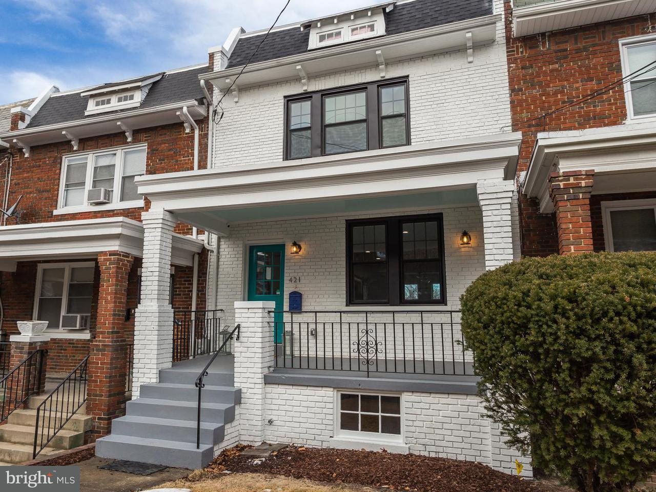 Townhouse for Sale at 421 Farragut St Nw 421 Farragut St Nw Washington, District Of Columbia 20011 United States