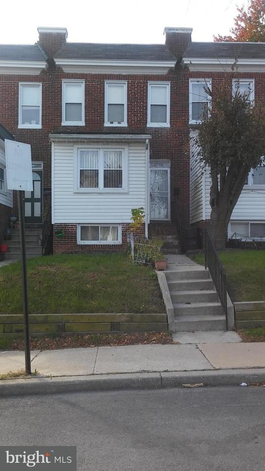 Single Family for Sale at 753 Cator Ave Baltimore, Maryland 21218 United States