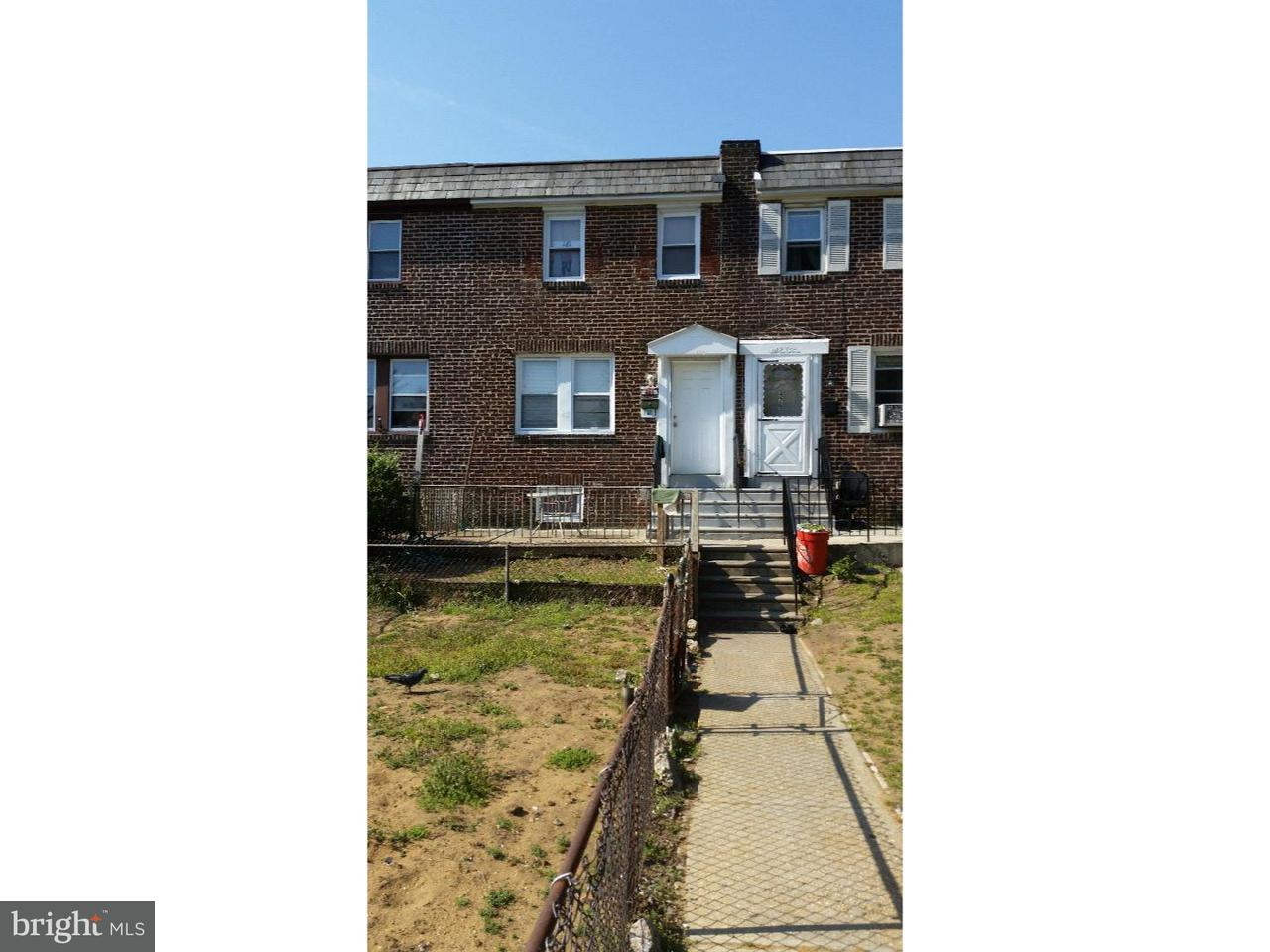 Townhouse for Sale at 481 RARITAN Street Camden, New Jersey 08105 United States