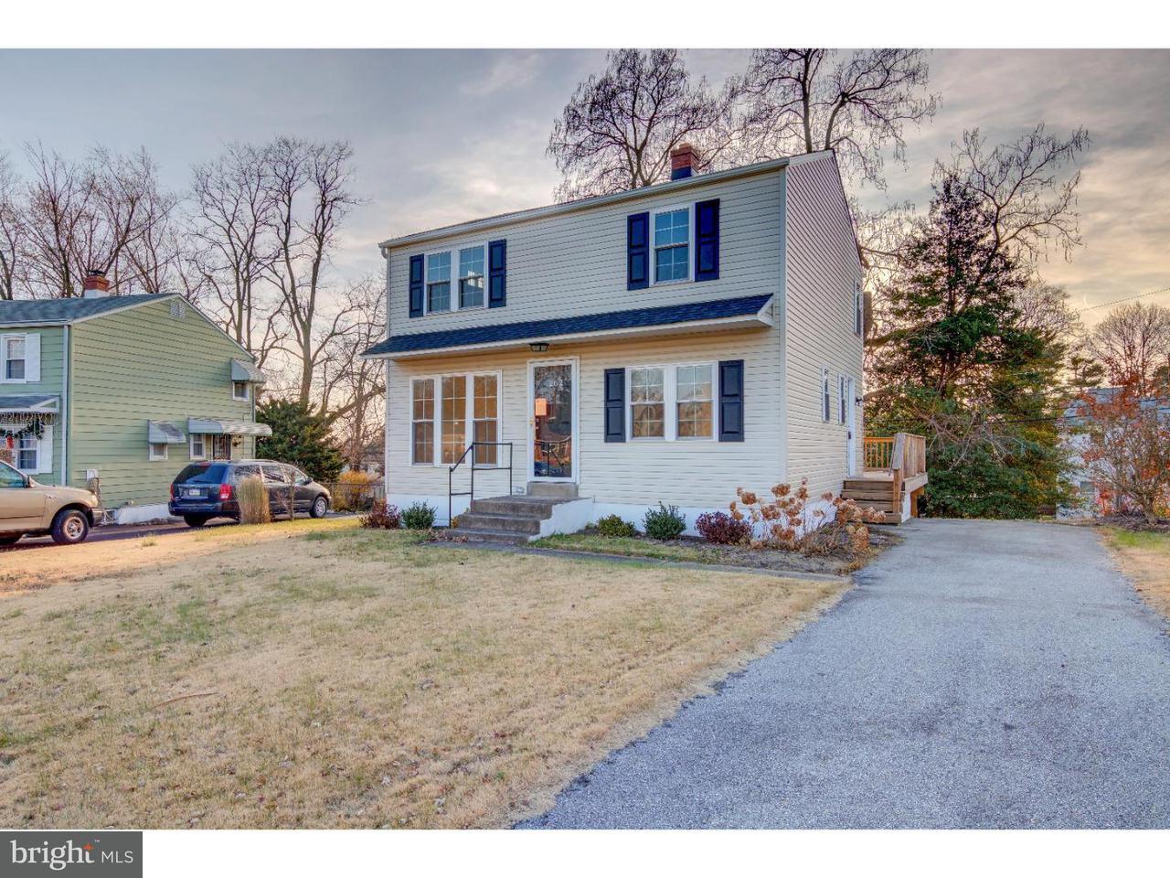 Maison unifamiliale pour l Vente à 262 W ROLAND Road Parkside, Pennsylvanie 19015 États-Unis