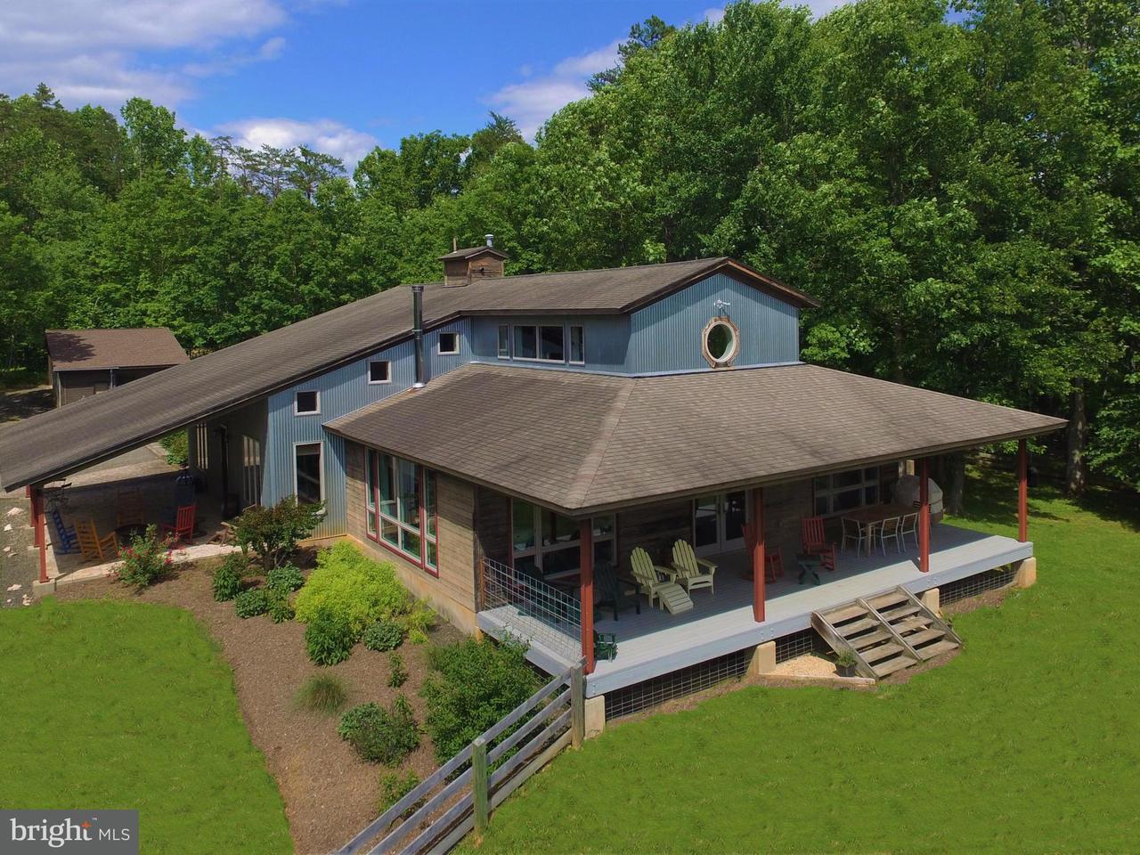 단독 가정 주택 용 매매 에 201 ROCK MILLS Road 201 ROCK MILLS Road Woodville, 버지니아 22749 미국