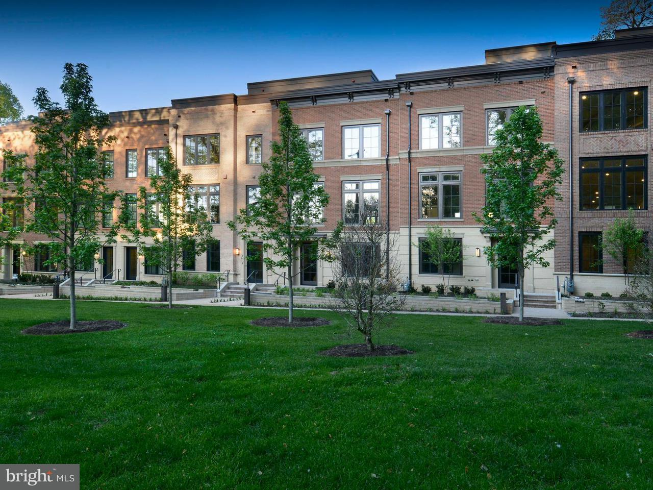Maison accolée pour l Vente à 3623 CHEVY CHASE LAKE DR #AVALON 3623 CHEVY CHASE LAKE DR #AVALON Chevy Chase, Maryland 20815 États-Unis