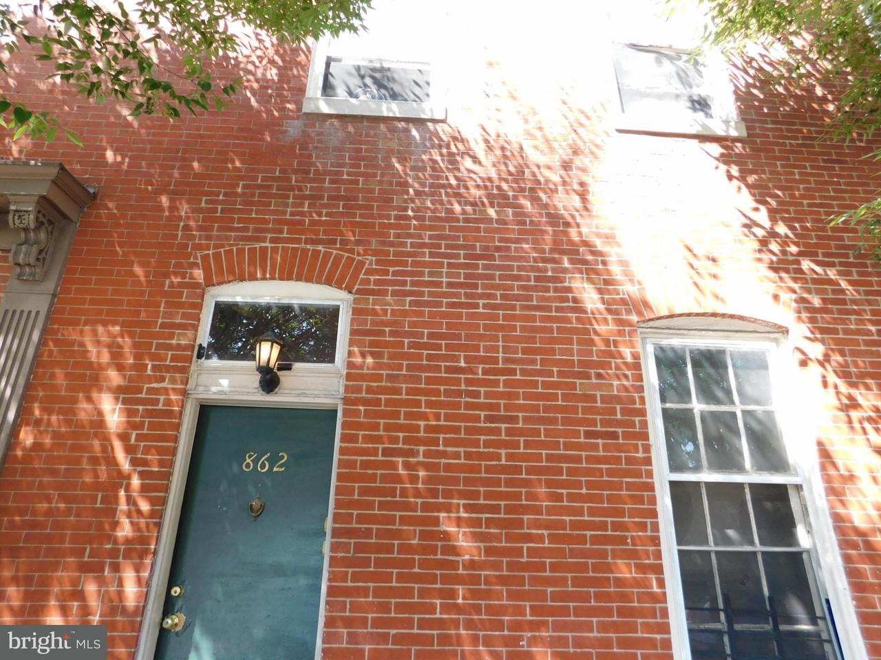 Single Family for Sale at 862 Park Ave Baltimore, Maryland 21201 United States