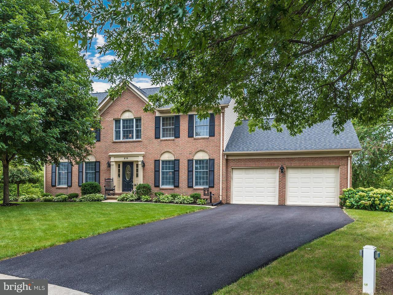 Maison unifamiliale pour l Vente à 275 MAPLEWOOD Court 275 MAPLEWOOD Court Walkersville, Maryland 21793 États-Unis