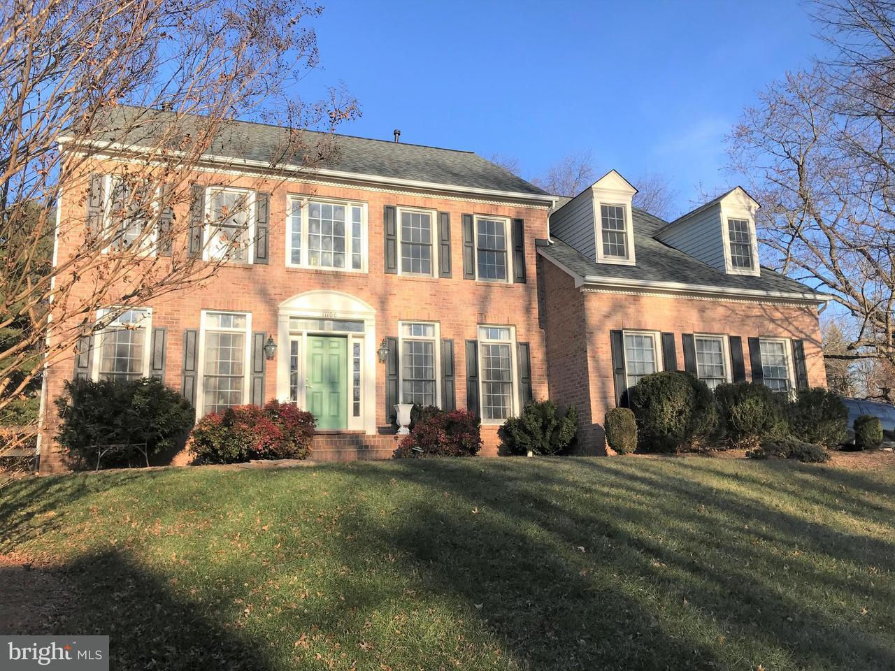 Casa Unifamiliar por un Venta en 11106 TOMMYE Lane 11106 TOMMYE Lane Reston, Virginia 20194 Estados Unidos