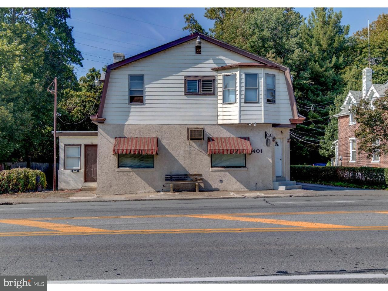 Single Family Home for Sale at 401 W CHESTER PIKE Ridley Park, Pennsylvania 19078 United States