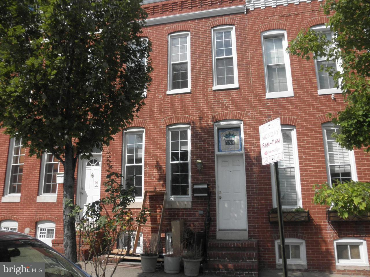 Single Family for Sale at 138 Collington Ave Baltimore, Maryland 21231 United States
