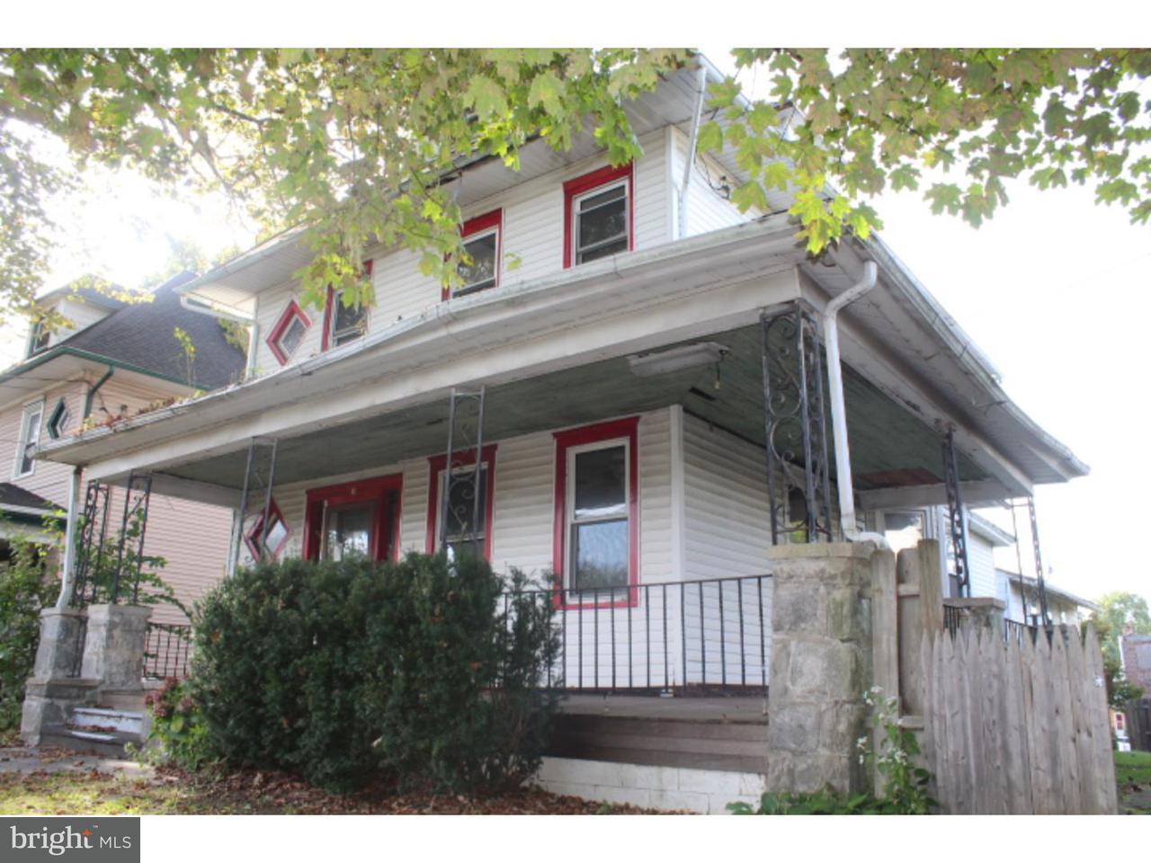 Частный односемейный дом для того Продажа на 17 W MERCHANT Street Audubon, Нью-Джерси 08106 Соединенные Штаты