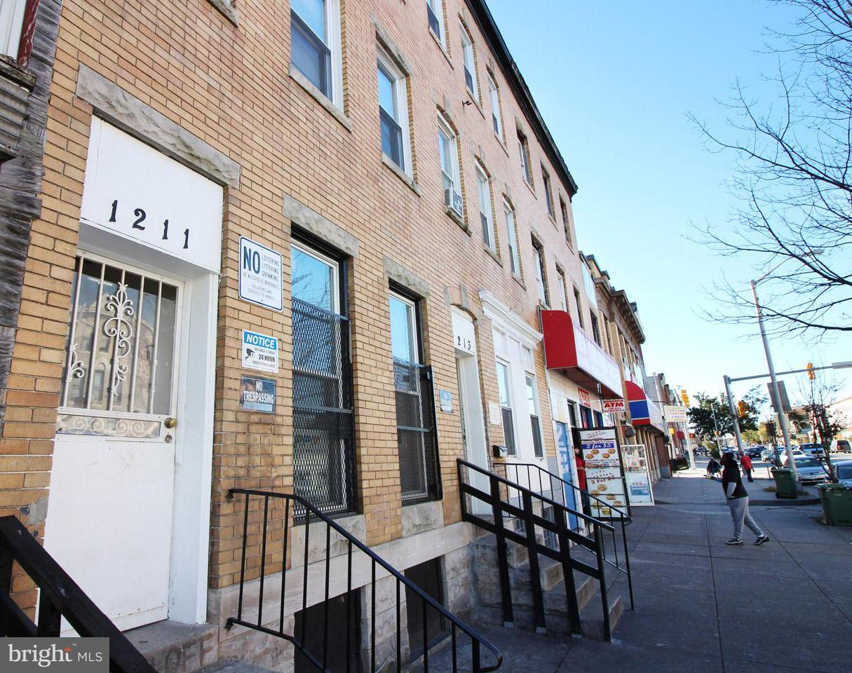 Other Residential for Sale at 1211 North Ave W Baltimore, Maryland 21217 United States