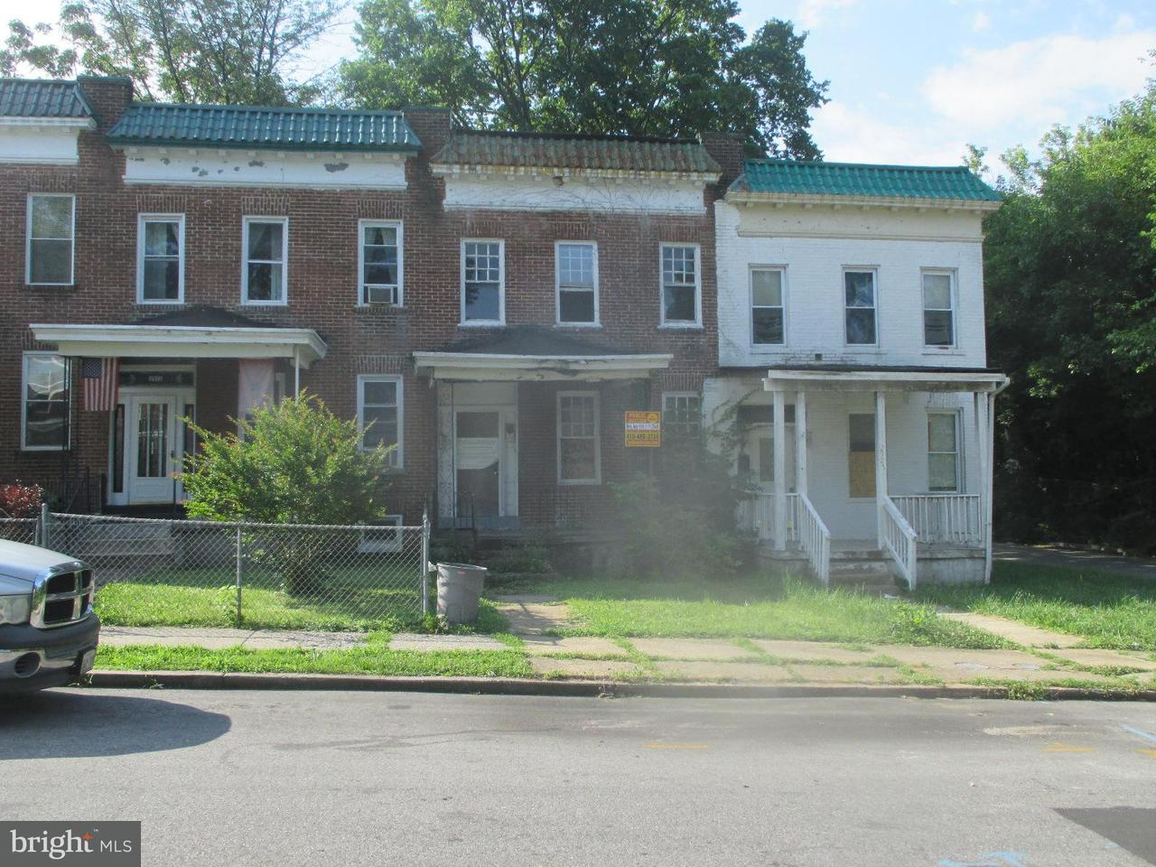 Single Family for Sale at 2925 Rockrose Ave Baltimore, Maryland 21215 United States