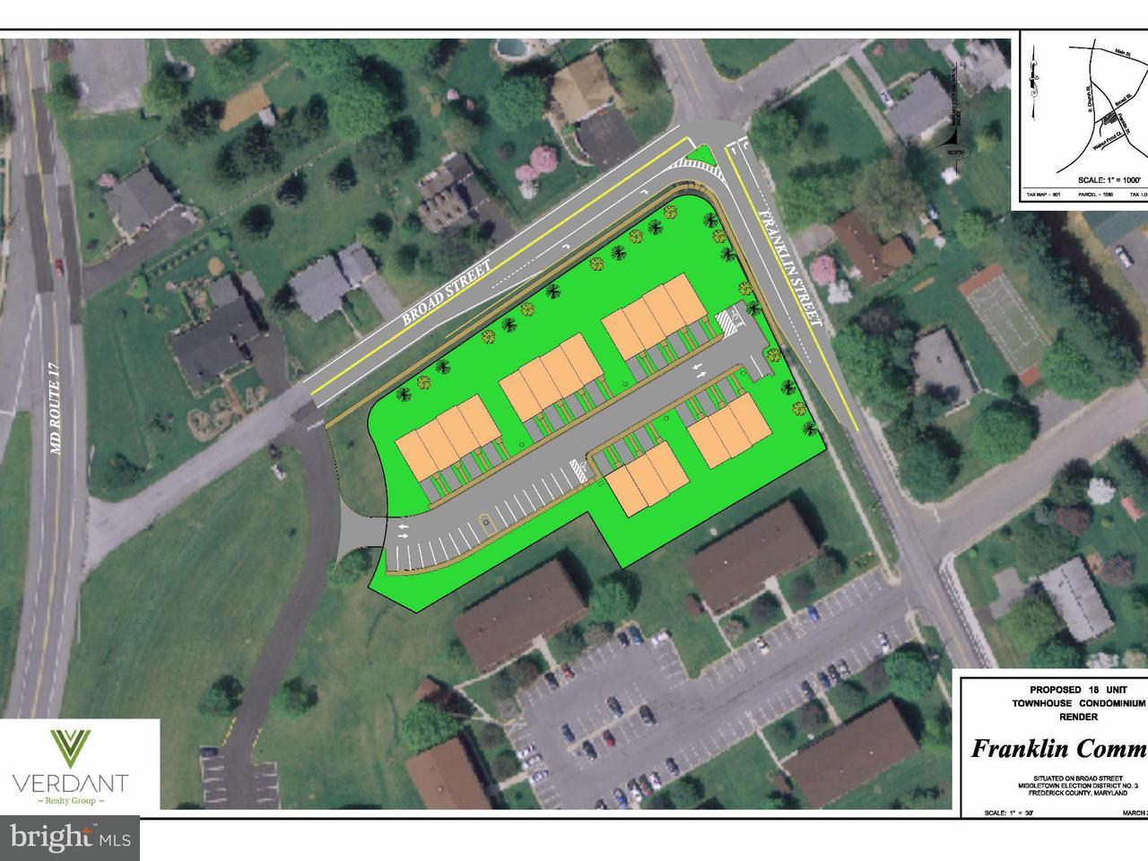 土地 為 出售 在 FRANKLIN Street FRANKLIN Street Middletown, 馬里蘭州 21769 美國