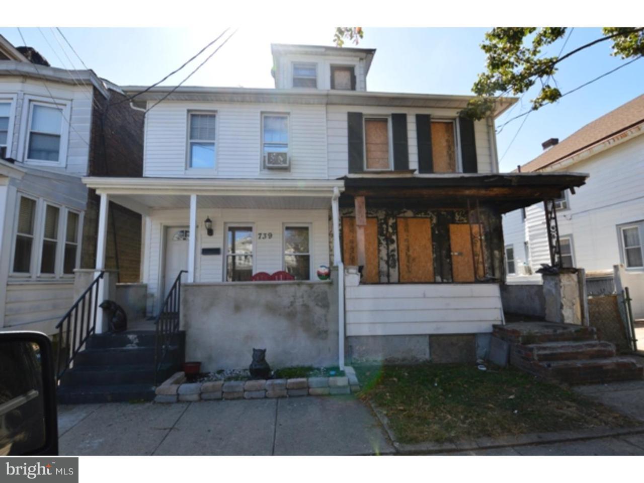 Townhouse for Rent at 737 WILLIAM Street Trenton, New Jersey 08610 United StatesMunicipality: Trenton City