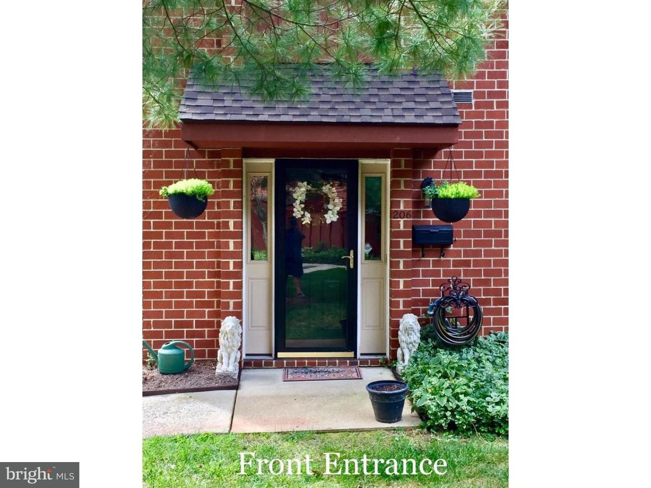 Townhouse for Rent at 206 WORTHINGTON Drive Exton, Pennsylvania 19341 United States