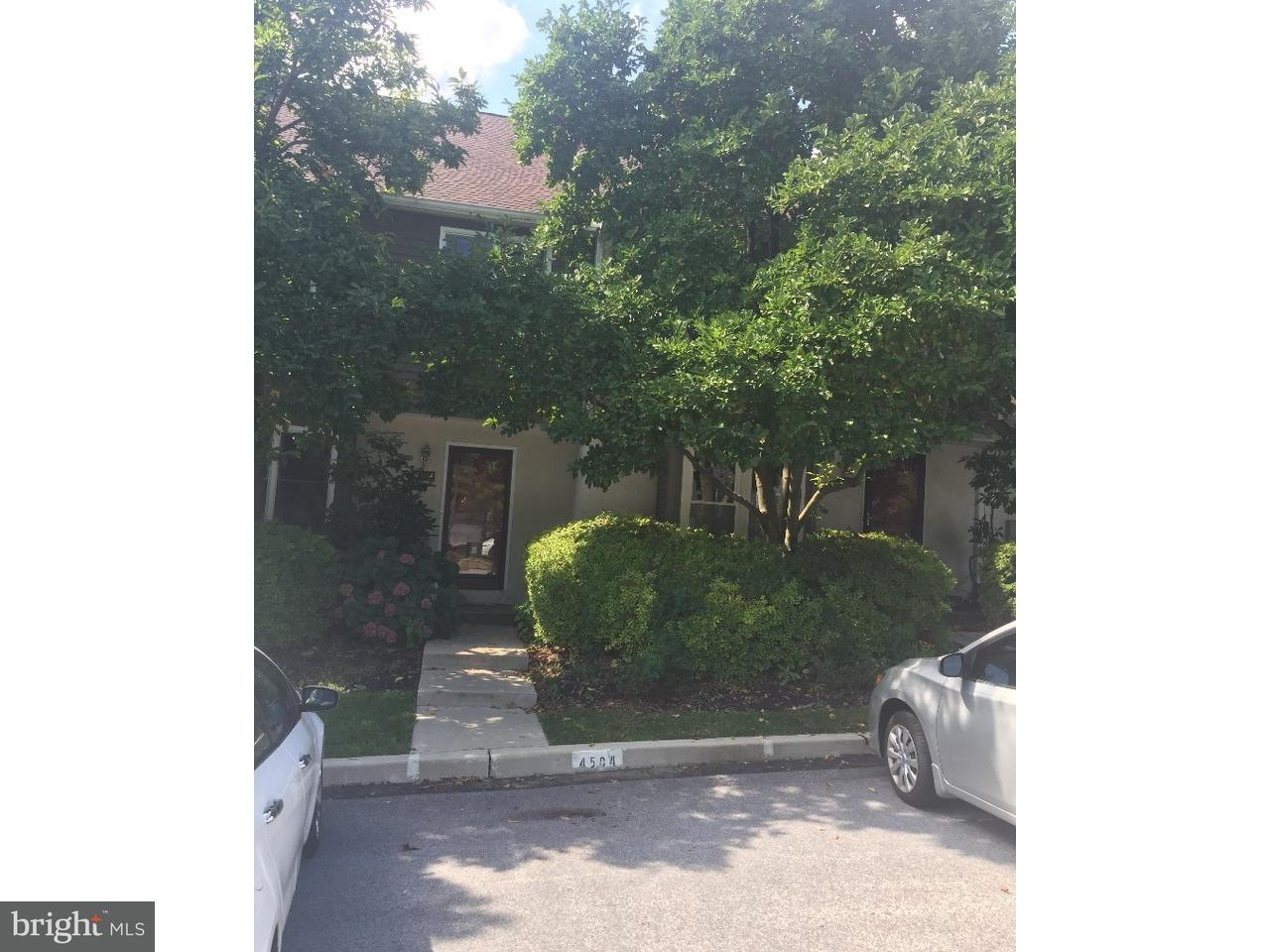 Townhouse for Rent at 4504 ADAMS Court Chester Springs, Pennsylvania 19425 United States