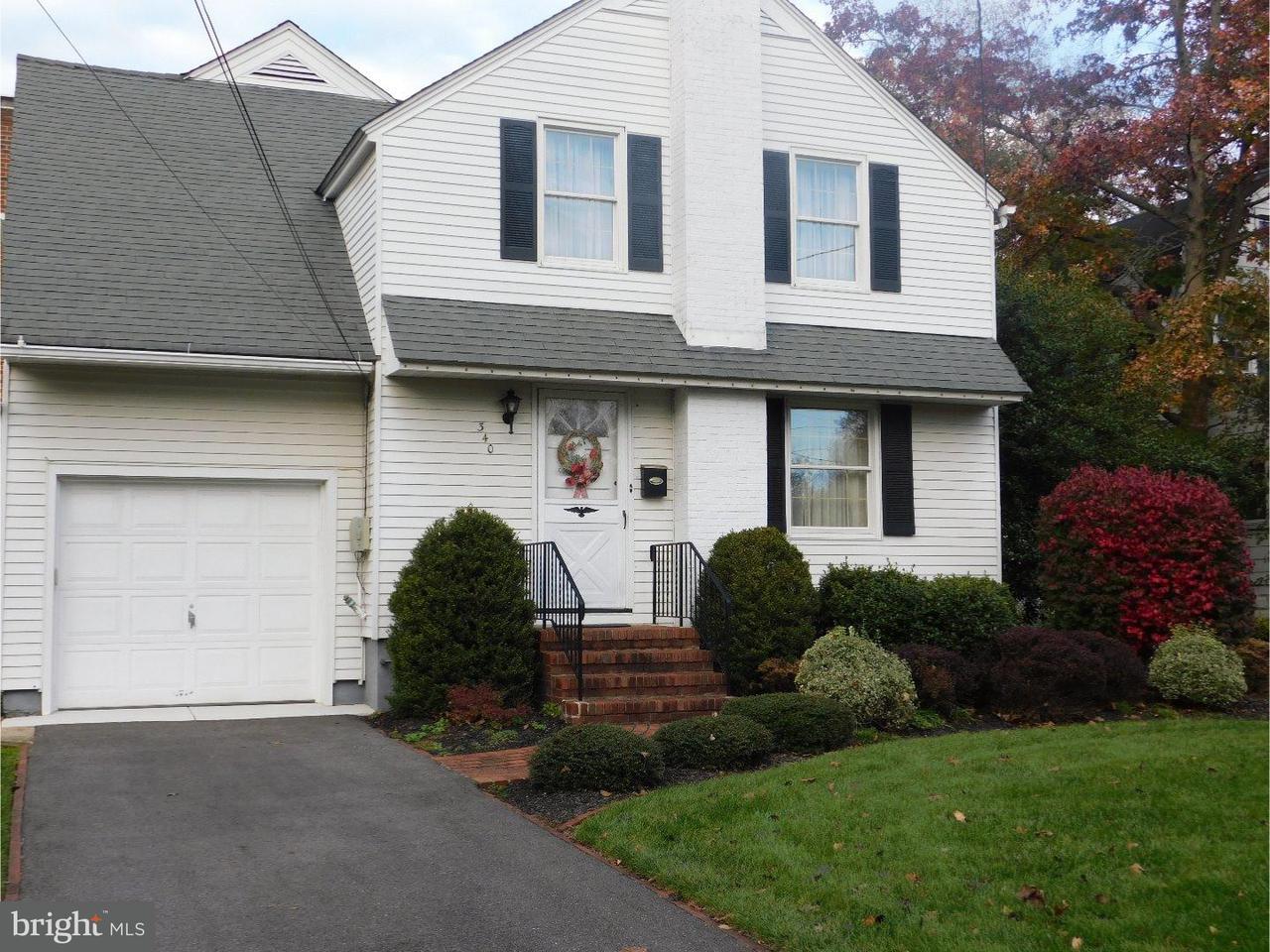 独户住宅 为 销售 在 340 MYRTLE Avenue Woodbury, 新泽西州 08096 美国