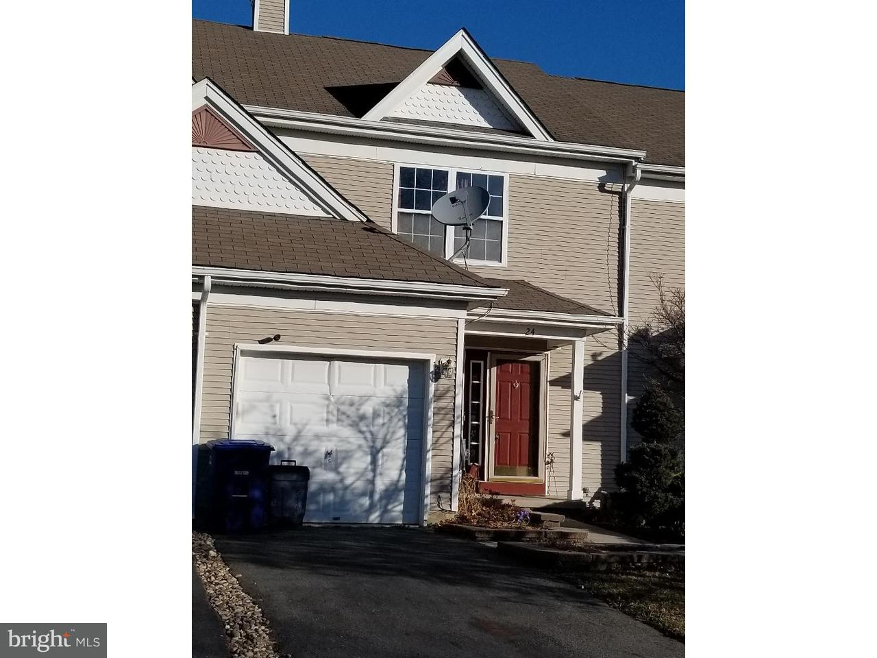 Townhouse for Rent at 24 STRATFORD Court Burlington Township, New Jersey 08016 United States