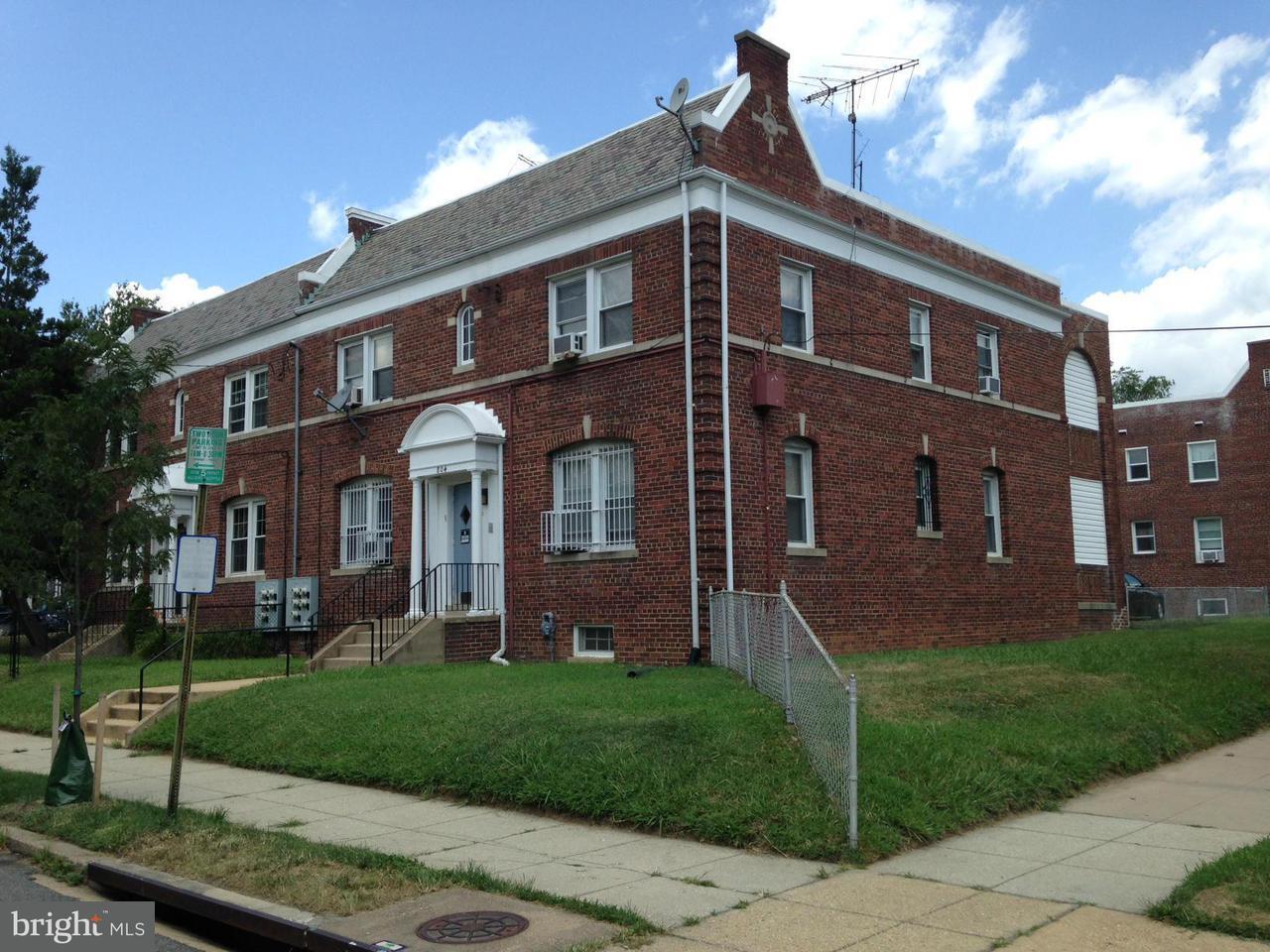 Casa Multifamiliar por un Venta en 804 RANDOLPH ST NE 804 RANDOLPH ST NE Washington, Distrito De Columbia 20017 Estados Unidos