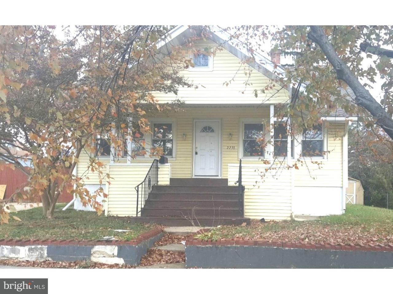 Maison unifamiliale pour l à louer à 2230 SCOVEL Avenue Pennsauken, New Jersey 08110 États-Unis