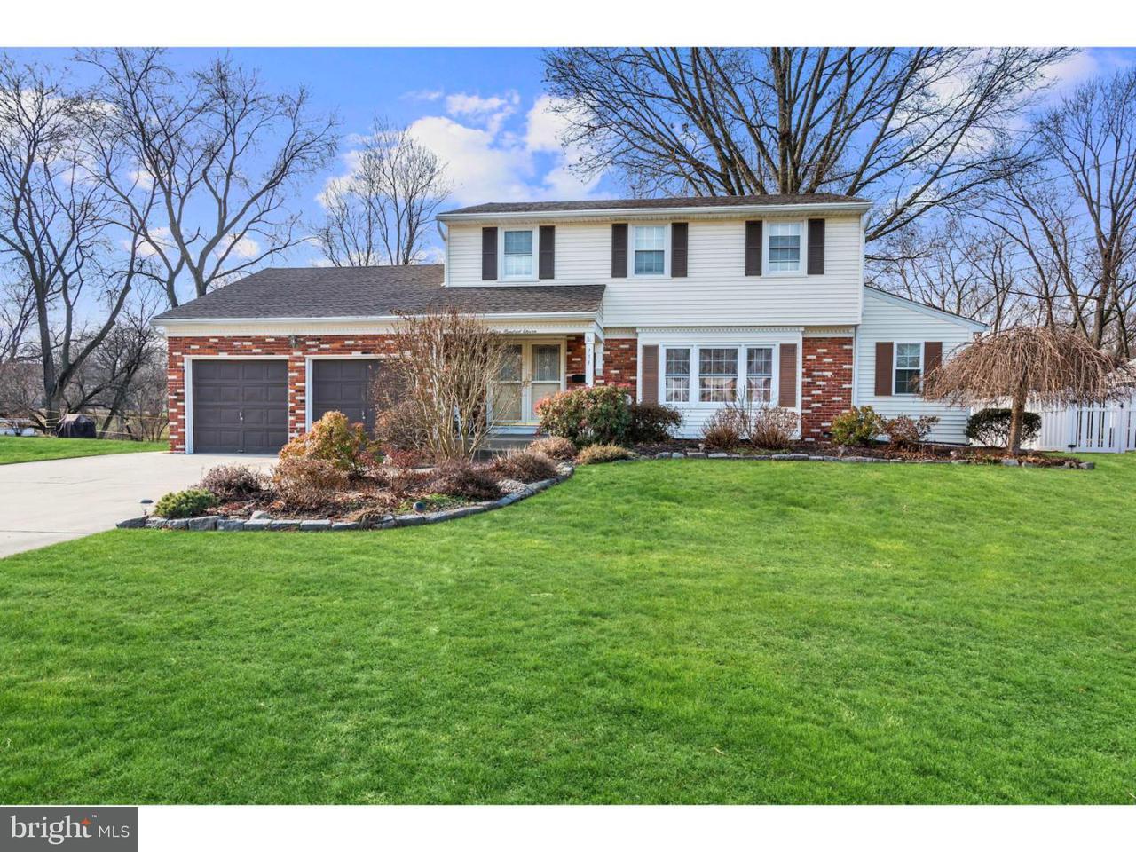Casa Unifamiliar por un Venta en 111 ERLINGTON Drive Cinnaminson Township, Nueva Jersey 08077 Estados Unidos