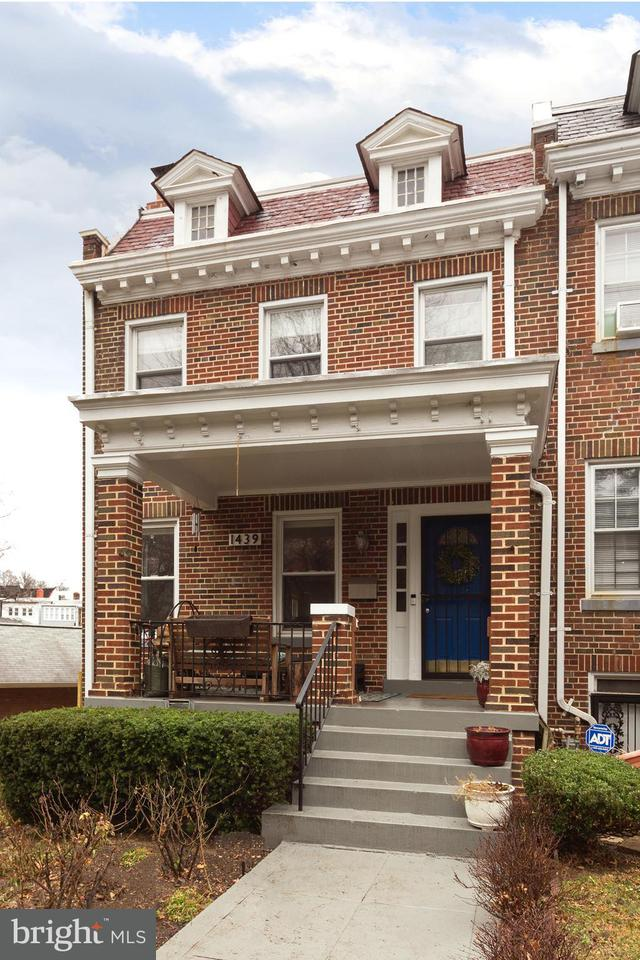 Townhouse for Sale at 1439 Taylor St Nw 1439 Taylor St Nw Washington, District Of Columbia 20011 United States