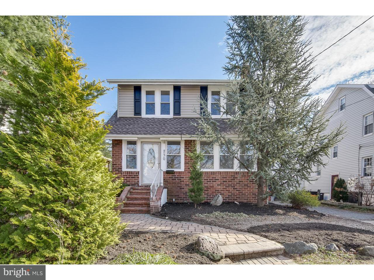 Частный односемейный дом для того Продажа на 230 STRAWBRIDGE Avenue Haddon Township, Нью-Джерси 08108 Соединенные Штаты