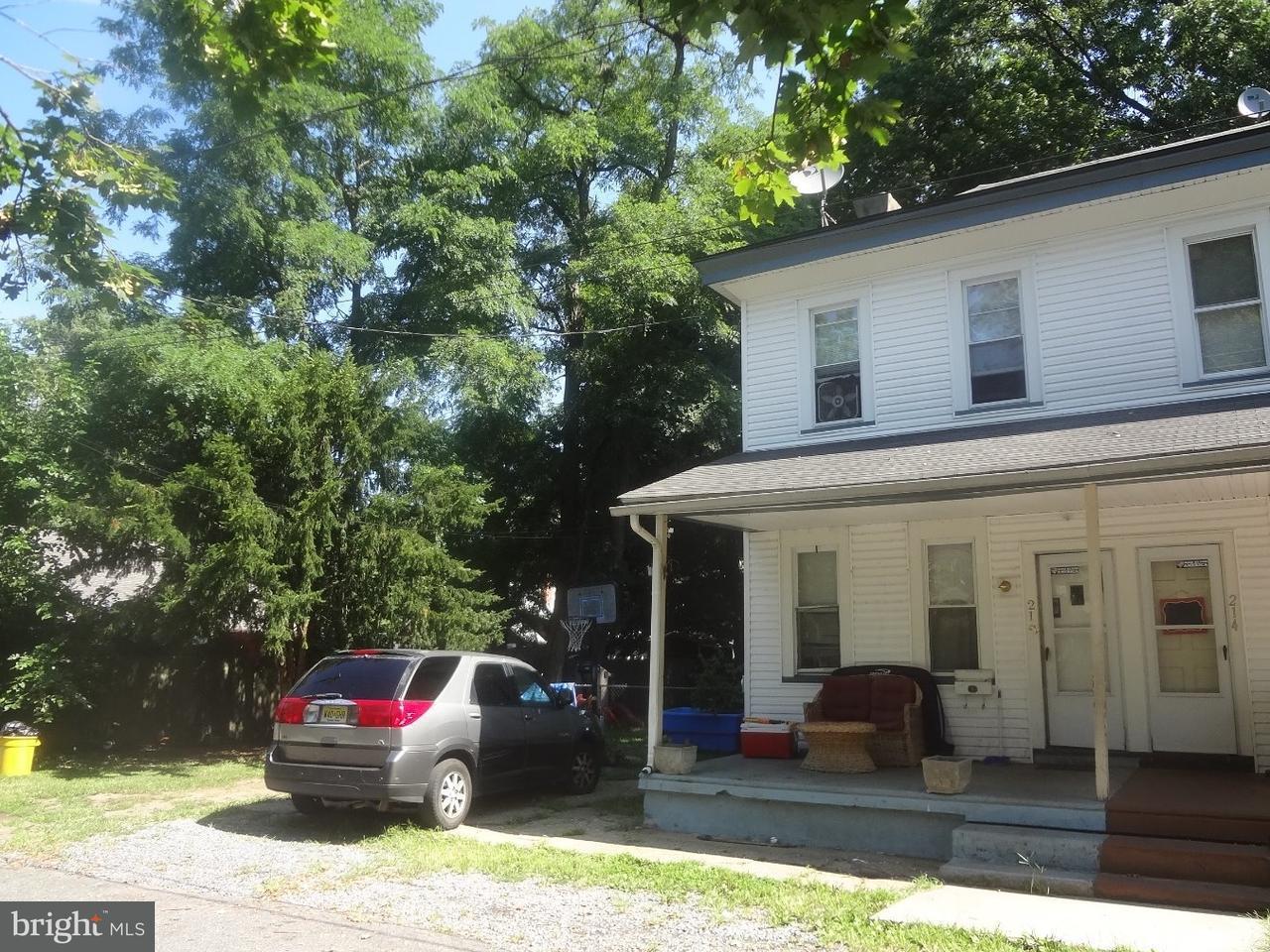 Casa unifamiliar adosada (Townhouse) por un Venta en 212 LINDEN Avenue Delanco Township, Nueva Jersey 08075 Estados Unidos