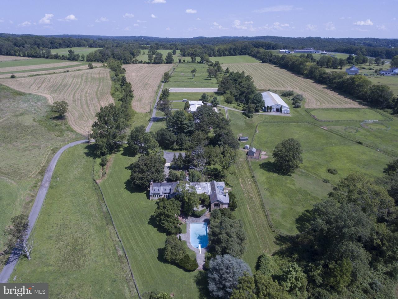 Maison unifamiliale pour l Vente à 75 RAVEN ROCK Road Stockton, New Jersey 08559 États-UnisDans/Autour: Delaware Township