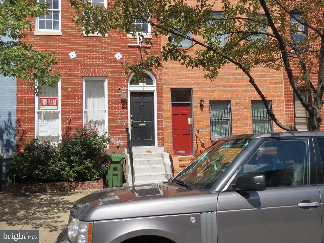 Single Family for Sale at 1314 Lombard St Baltimore, Maryland 21223 United States