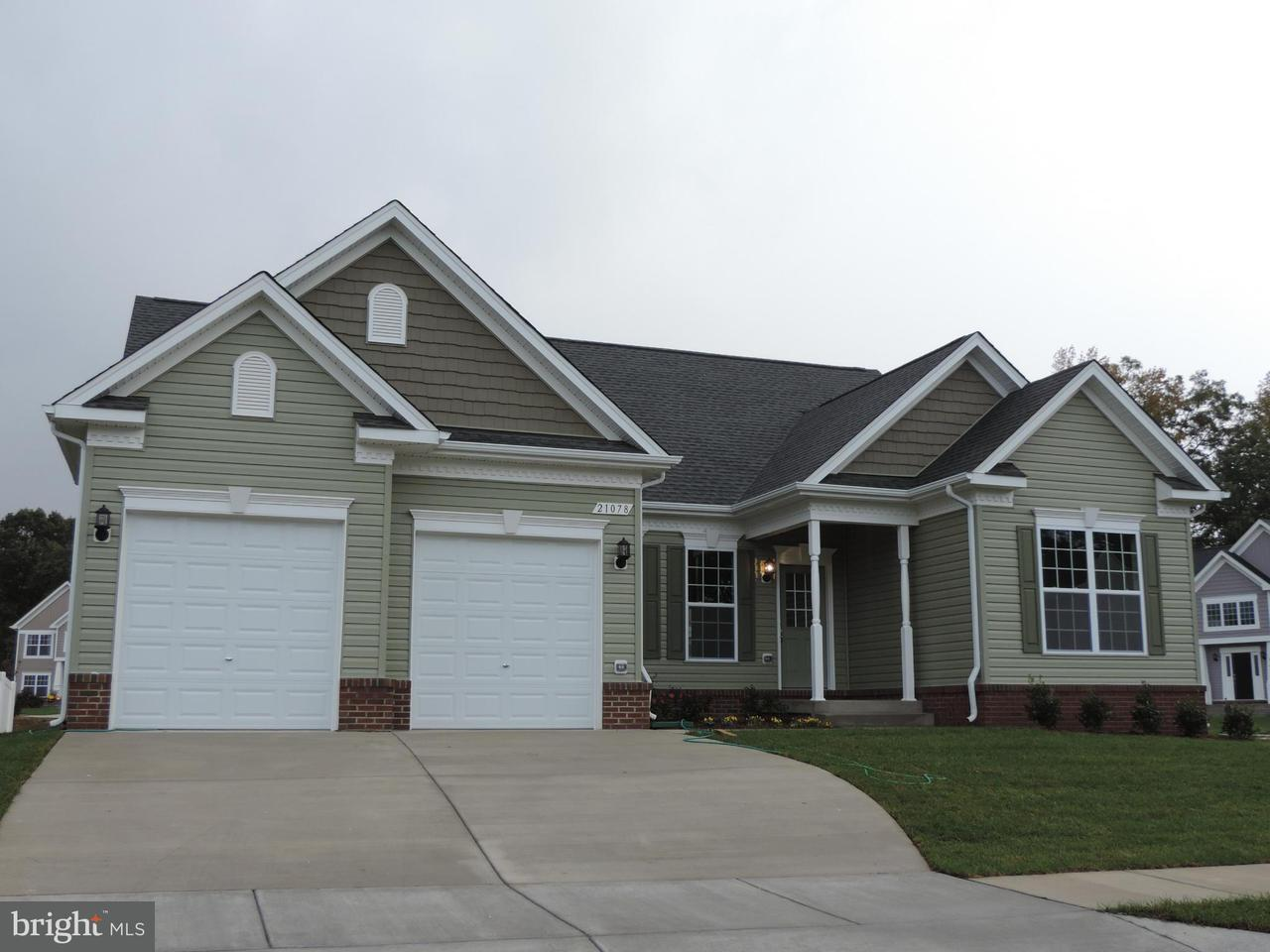 Частный односемейный дом для того Продажа на 1998 FOXWOOD LANE 1998 FOXWOOD LANE Lusby, Мэриленд 20657 Соединенные Штаты