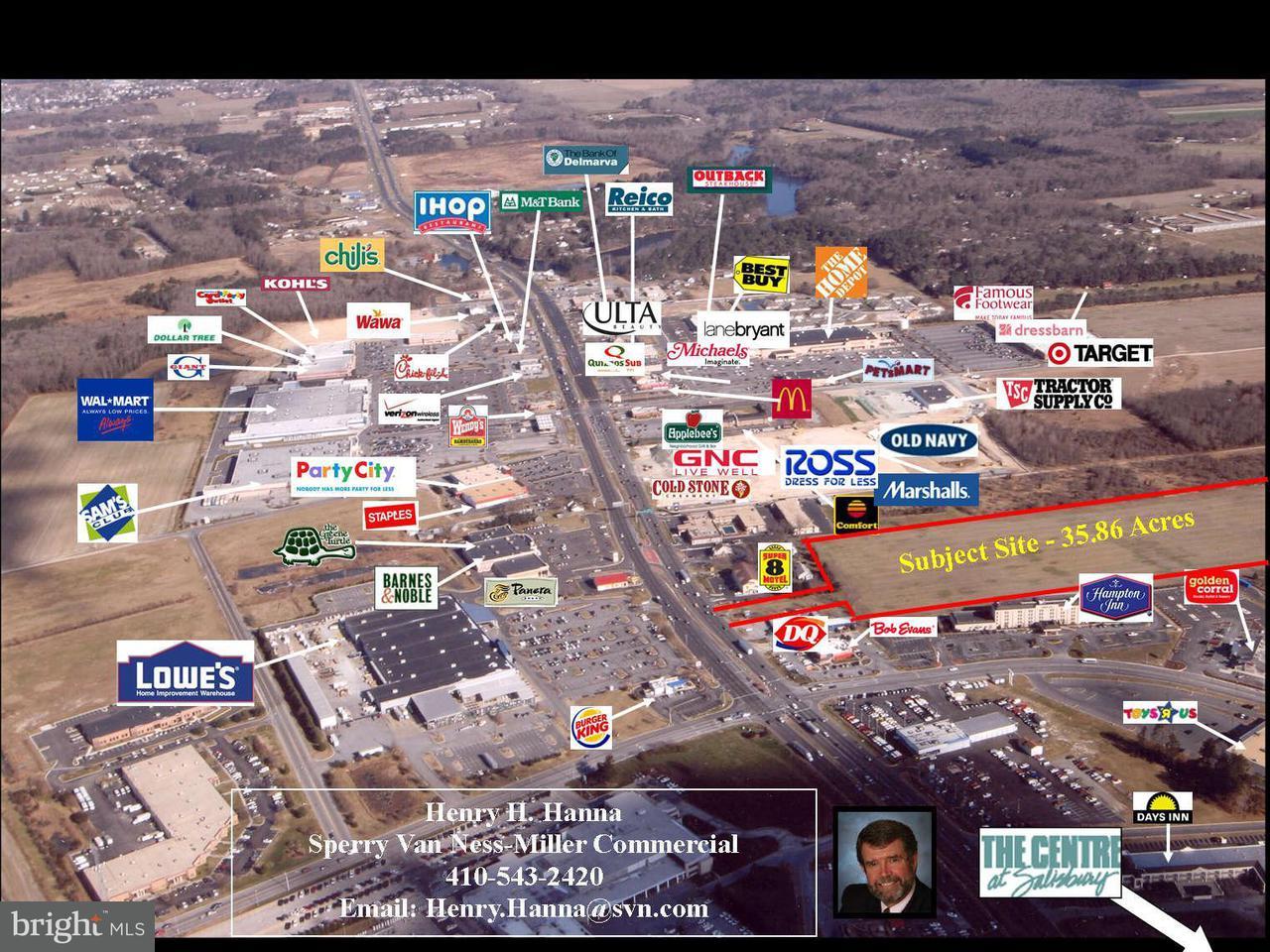 Land for Sale at U S 13 HWY N U S 13 HWY N Salisbury, Maryland 21801 United States