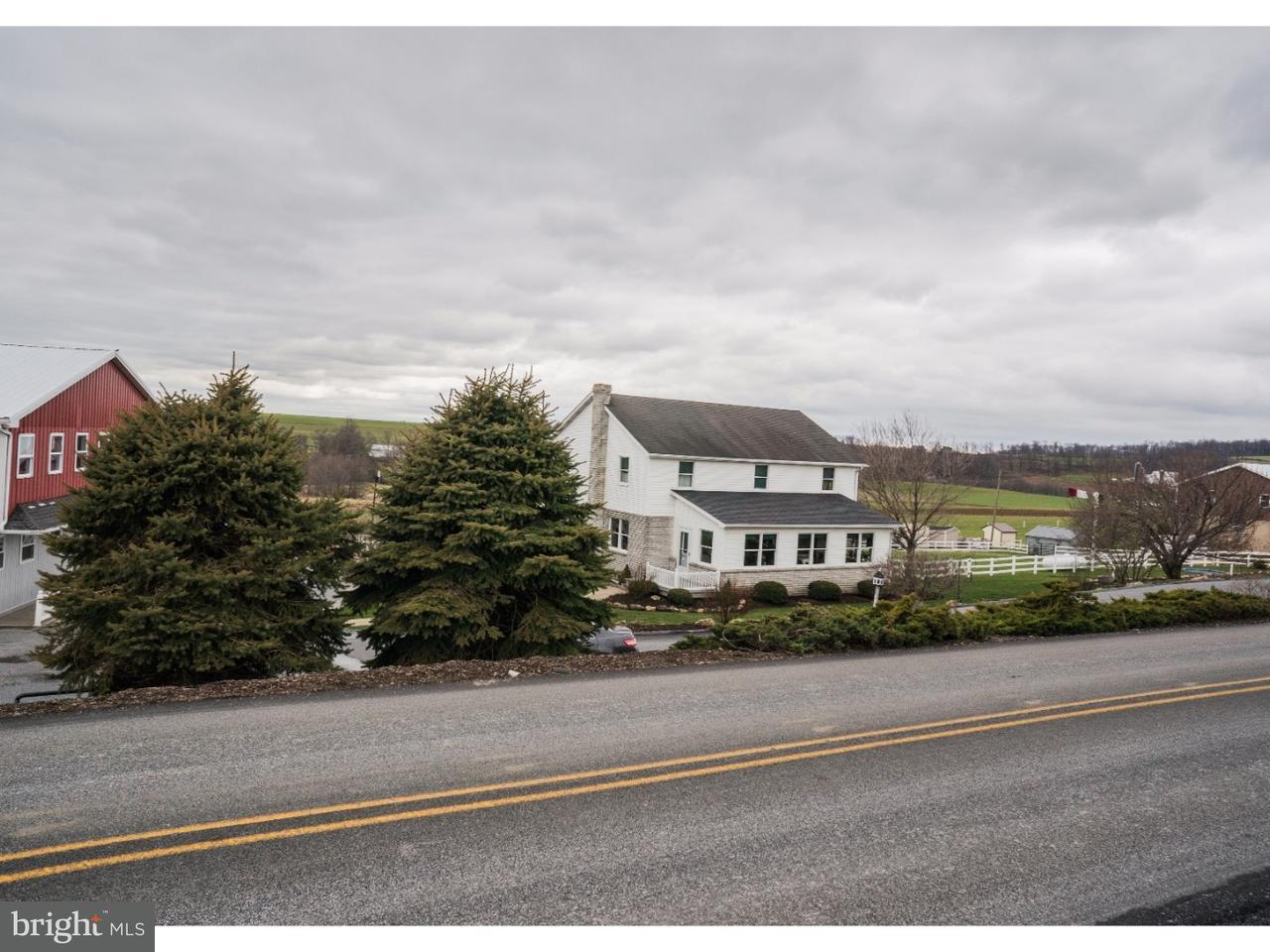 Частный односемейный дом для того Продажа на 501 FURNACE Road Quarryville, Пенсильвания 17566 Соединенные Штаты