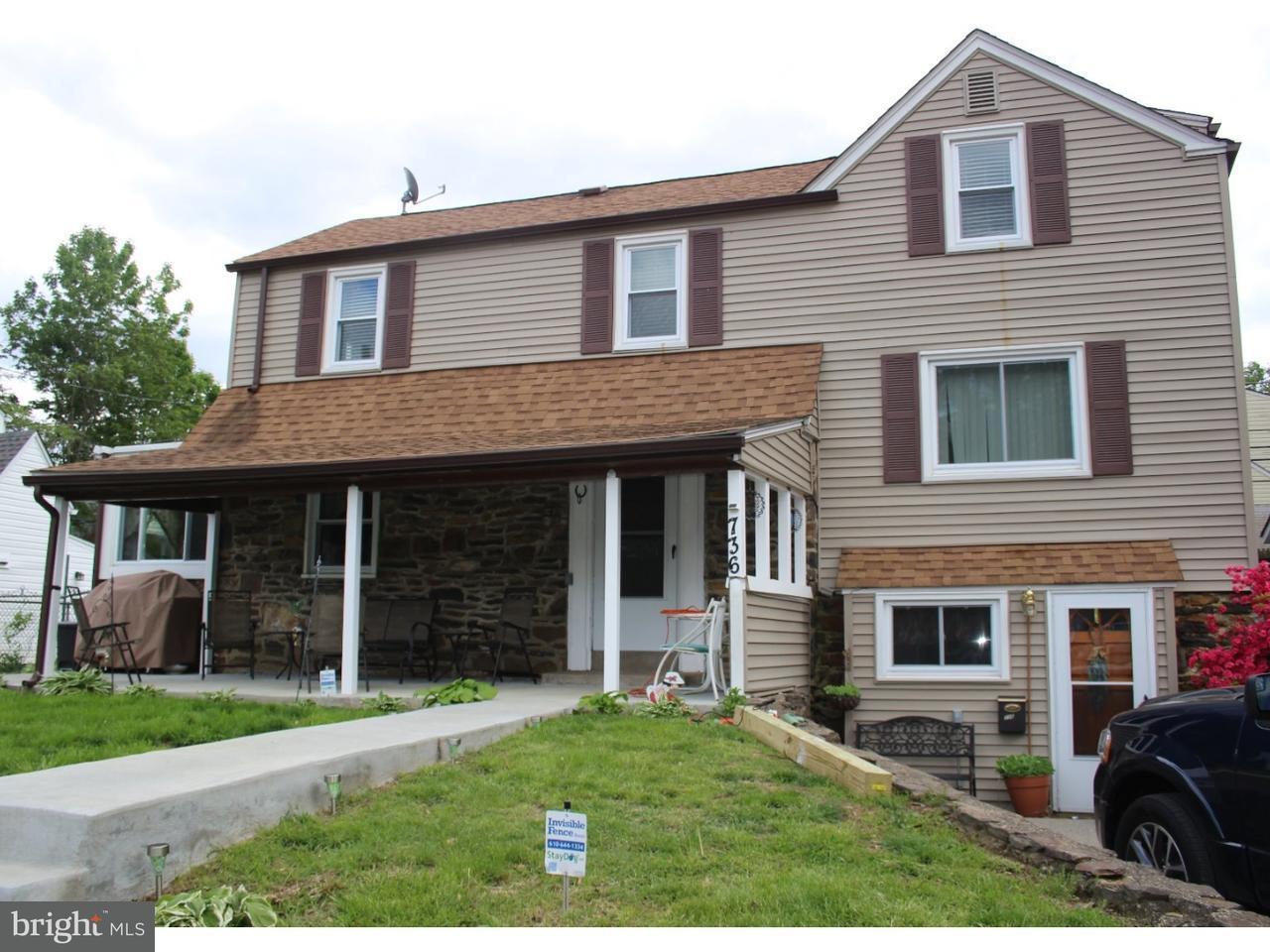 Casa Unifamiliar por un Venta en 736 WESTWOOD Lane Aldan, Pennsylvania 19018 Estados Unidos
